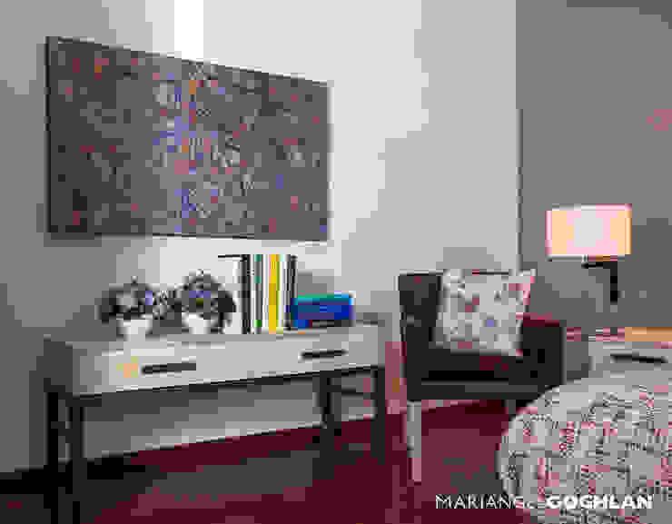 Recámara Dormitorios modernos de MARIANGEL COGHLAN Moderno