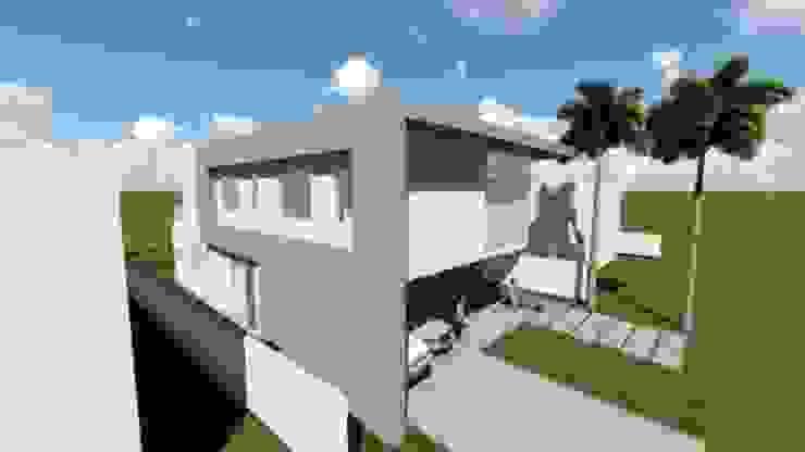 Residência V|T Casas modernas por Coutinho+Vilela Moderno Tijolo