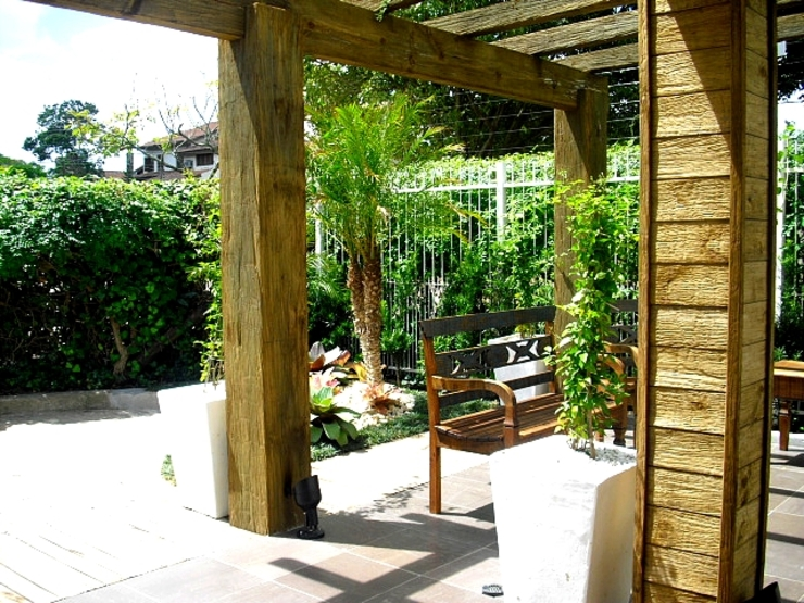 Condominio Residencial em Porto Alegre Jardins modernos por Motta Arquitetura Moderno