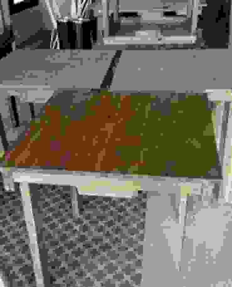 mesas con palets restaurante de RECICLA'RT Rústico