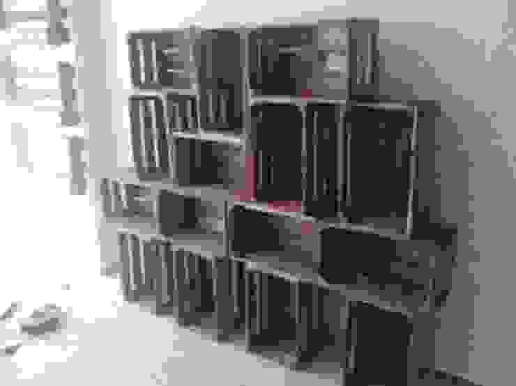 estanterias mesas i chillouts de RECICLA'RT Rústico