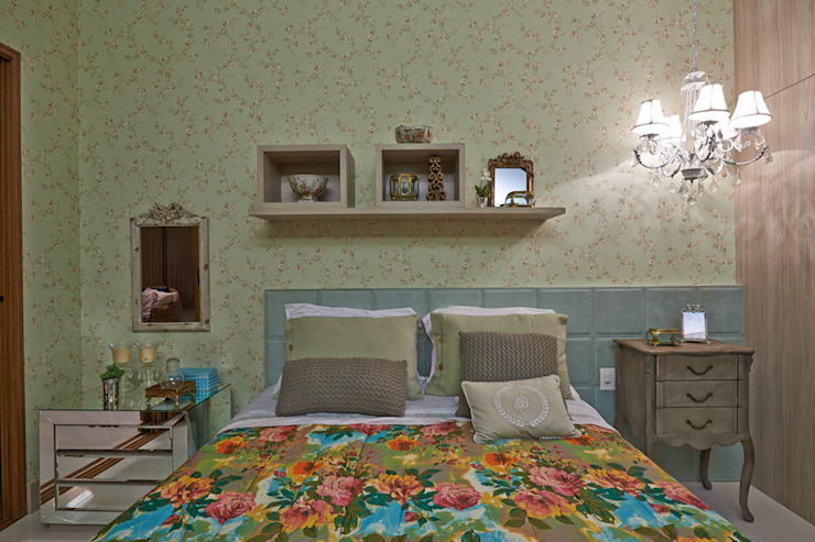 Country style bedroom by Gláucia Britto Country