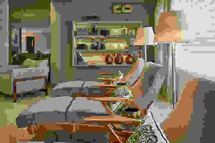 Apartamento JD Salas de estar modernas por Gláucia Britto Moderno