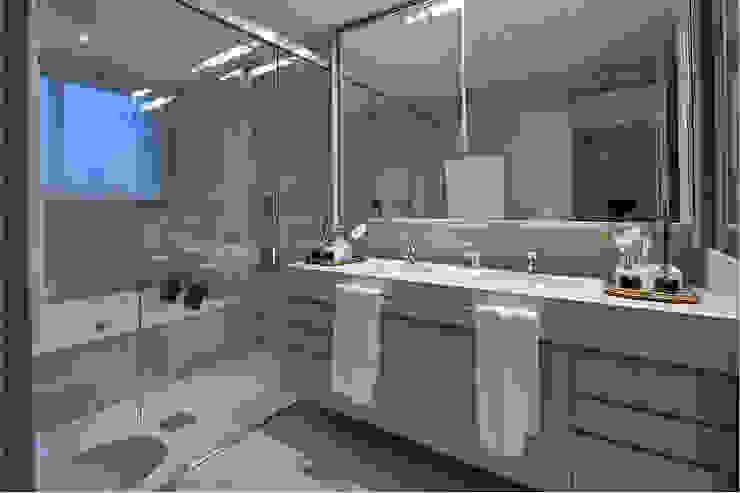 Apartamento JD Banheiros modernos por Gláucia Britto Moderno
