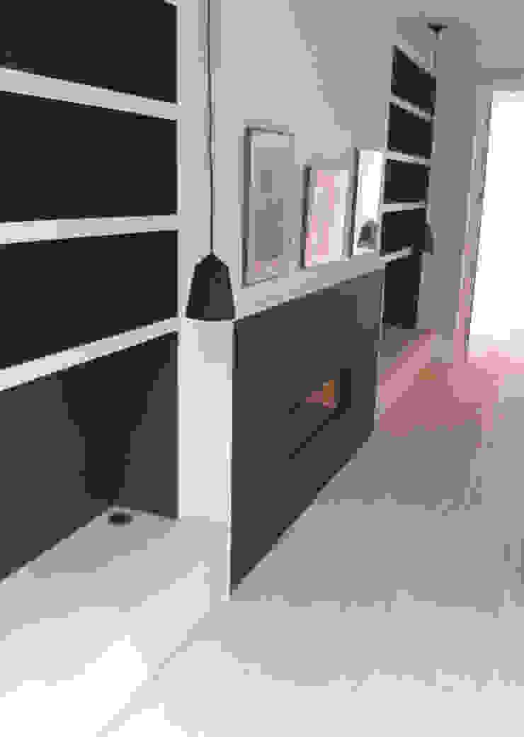 Bespoke fireplace Gullaksen Architects SoggiornoCamini & Accessori