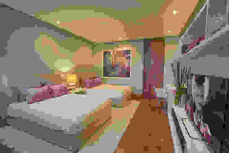RECAMARA DOBLE Dormitorios infantiles modernos de Rousseau Arquitectos Moderno