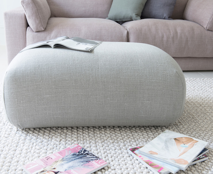 Doughball Footstool: modern  by Loaf, Modern