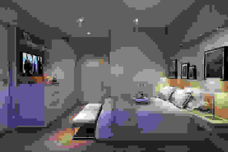Lodo Barana Arquitetura e Interiores Dormitorios de estilo moderno