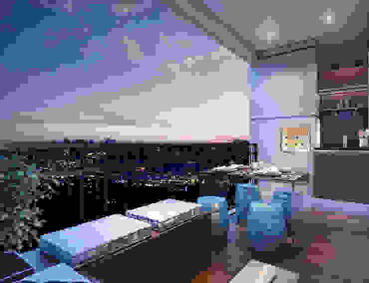 Terrazas de estilo  por Lodo Barana Arquitetura e Interiores, Moderno