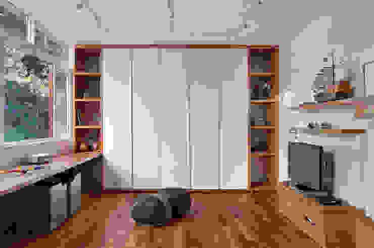 Cobertura Almirante Guillobel Quarto infantil moderno por Cerejeira Agência de Arquitetura Moderno