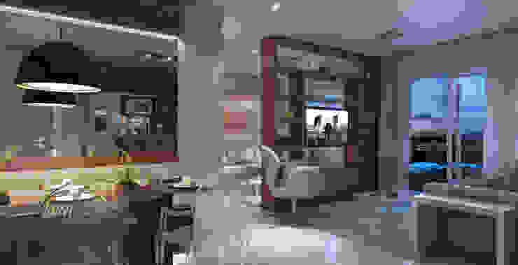 Lodo Barana Arquitetura e Interiores Livings de estilo moderno