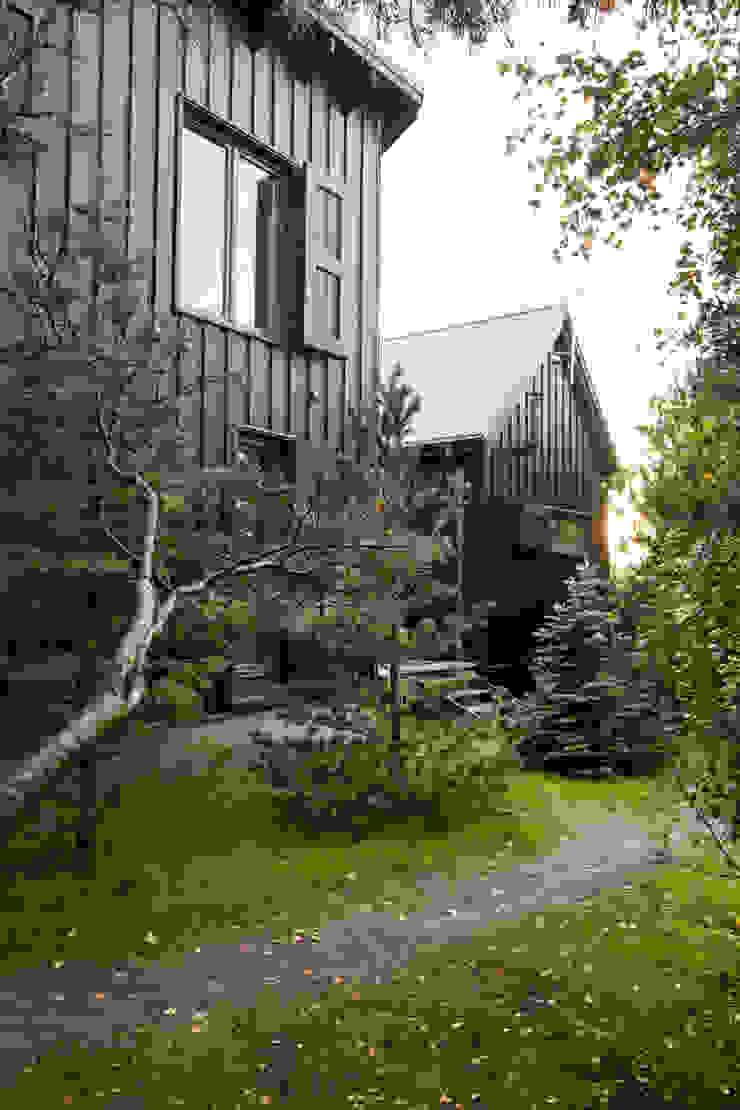 Widok ze wschodu, elewacja północno-wschodnia Skandynawskie domy od Magdalena Zawada Skandynawski