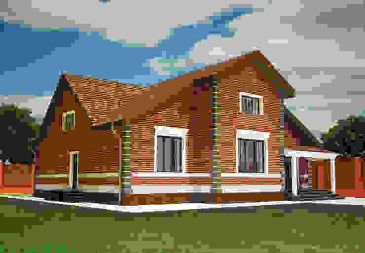 Индивидуальный жилой дом в Краснодарском крае Дома в классическом стиле от LGorshkaleva Классический