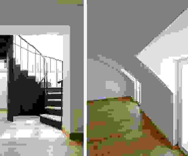 stair & bedroom 15 por ARTE e TECTóNiCA, arquitectura e desenho Lda Eclético