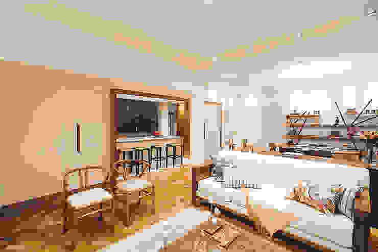 Apartamento Getúlio das Neves Salas de estar modernas por Cerejeira Agência de Arquitetura Moderno