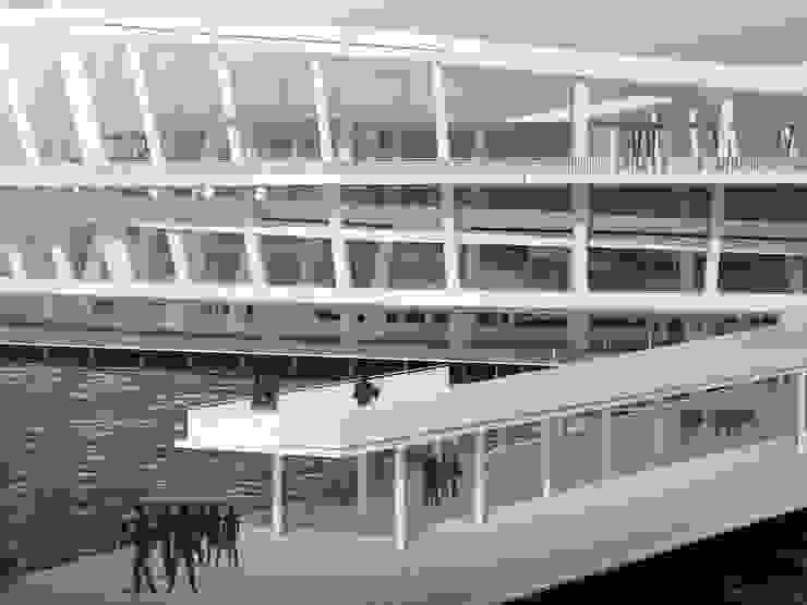 Морской вокзал в порту Кавказ Дома в стиле минимализм от LGorshkaleva Минимализм