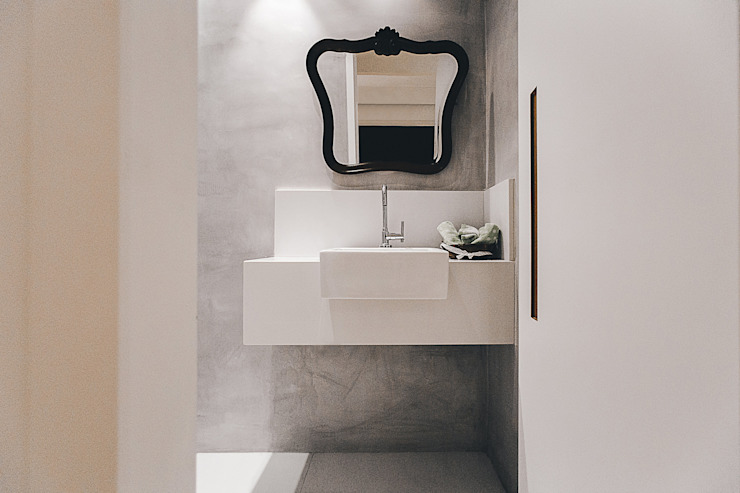 Moderne badkamers van Cerejeira Agência de Arquitetura Modern