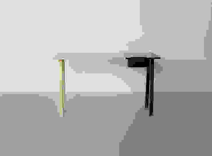Escrivaninha Noir por Hugo Sigaud Minimalista