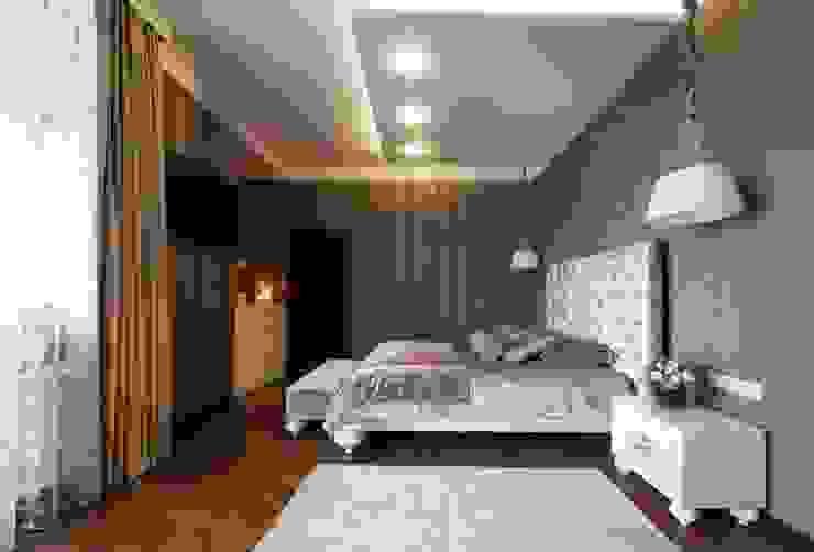 Спальня от Студия дизайна 'Mart.Studio' Эклектичный