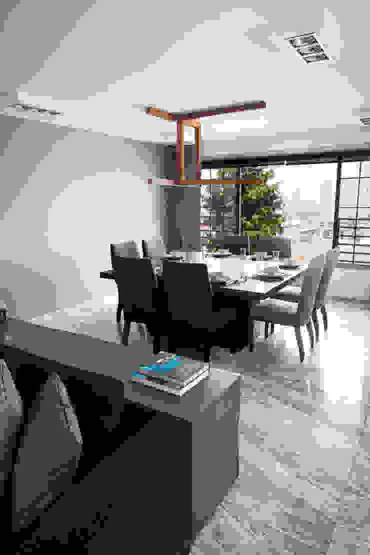 Casa C-CH Comedores modernos de Concepto Taller de Arquitectura Moderno