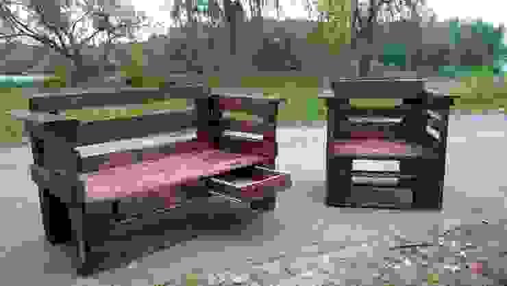 Мебель из паллет: Сад  в . Автор – Amadis,