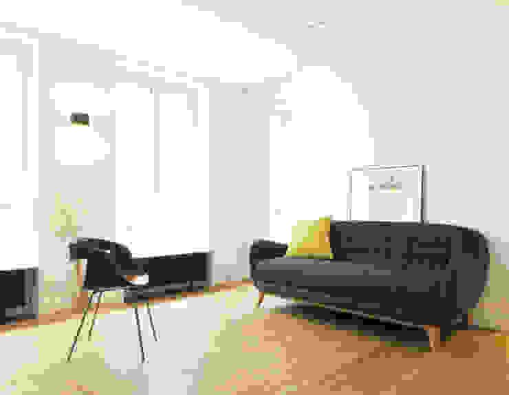 Scandinavische woonkamers van Studio Pan Scandinavisch