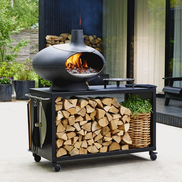 Morso Four à pizza & barbecue par Tenue d'Jardin Moderne