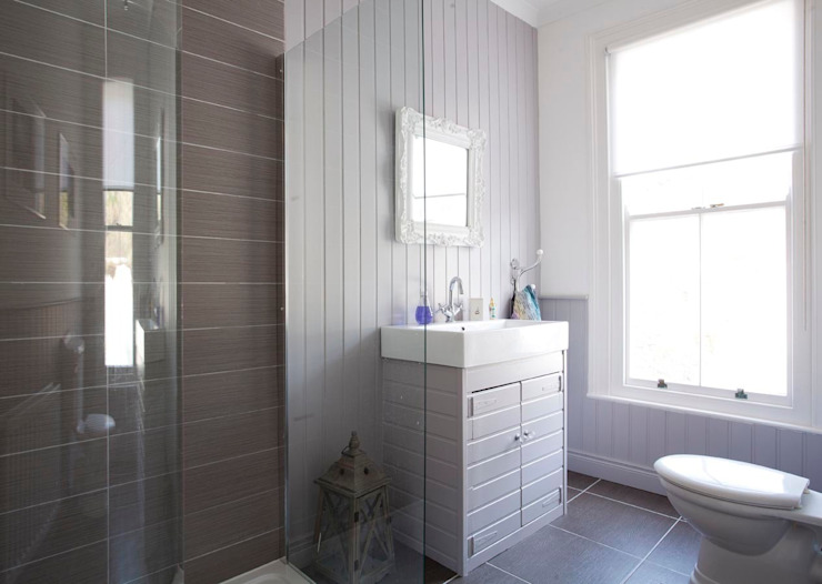 Coastal Townhouse Jude Burrows Interior Design BathroomDecoration