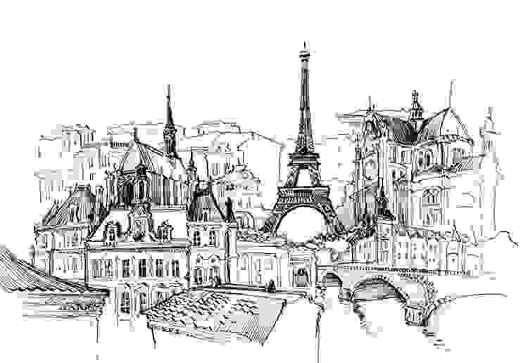 Obraz na płótnie Paryż od 4rooms.com.pl Nowoczesny