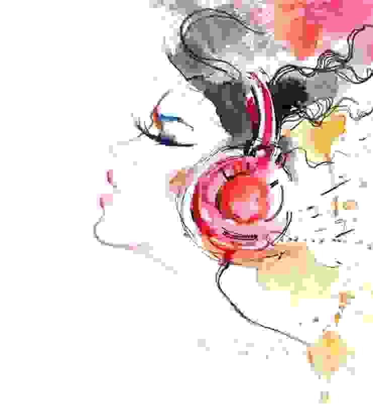 Obraz na płótnie Sound of Music od 4rooms.com.pl Nowoczesny