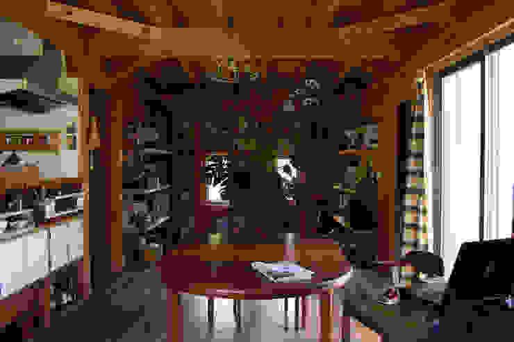 茂原の家 オリジナルデザインの ダイニング の 合同会社加藤哲也建築設計事務所 オリジナル