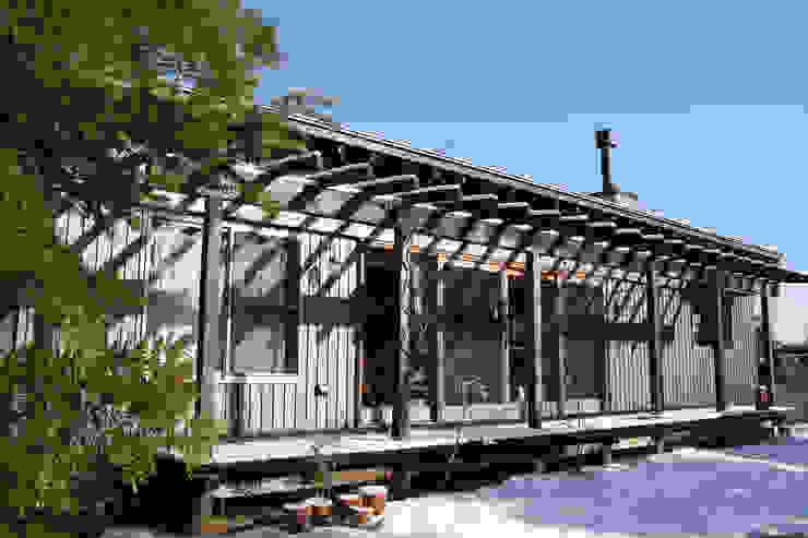 茂原の家 オリジナルデザインの テラス の 合同会社加藤哲也建築設計事務所 オリジナル