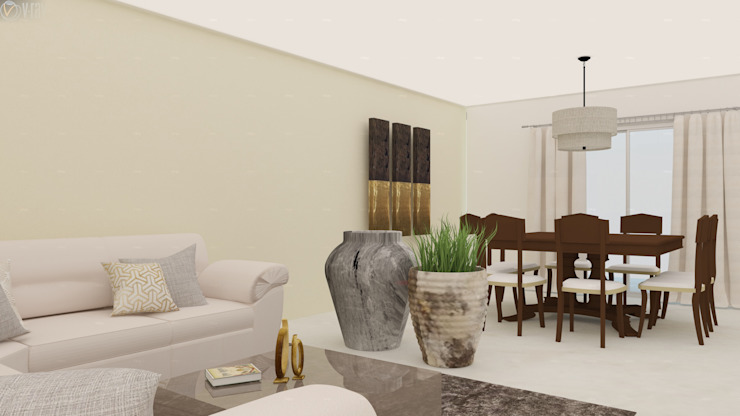 Modern Living Room by Beatriz Quiroz Interiorismo Modern