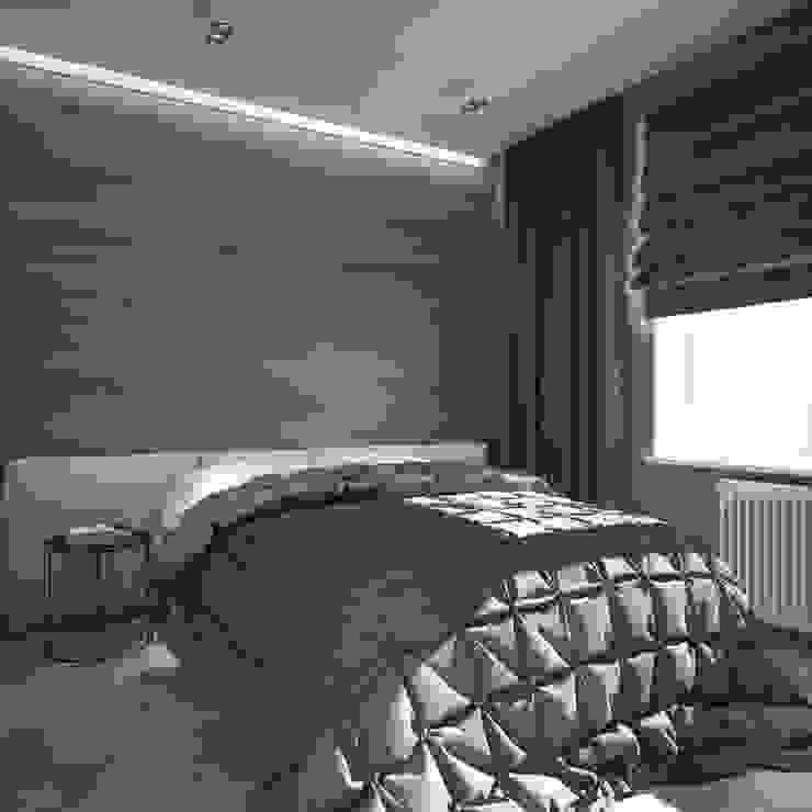 уютный лофт Спальня в стиле лофт от Pavel Alekseev Лофт