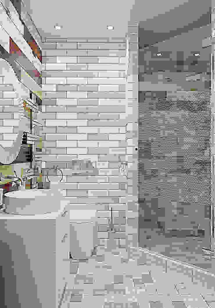 уютный лофт Ванная в стиле лофт от Pavel Alekseev Лофт