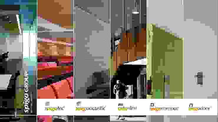 Productos técnicos SPIGOGROUP Estudios y despachos de estilo moderno de SPIGOGROUP Moderno
