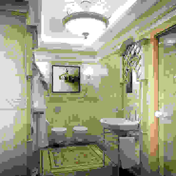 Гостевой санузел. Вид 1 Ванная в классическом стиле от Defacto studio Классический