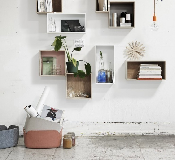 Restore - Muuto MOHD - Mollura Home and Design Ingresso, Corridoio & ScaleContenitori