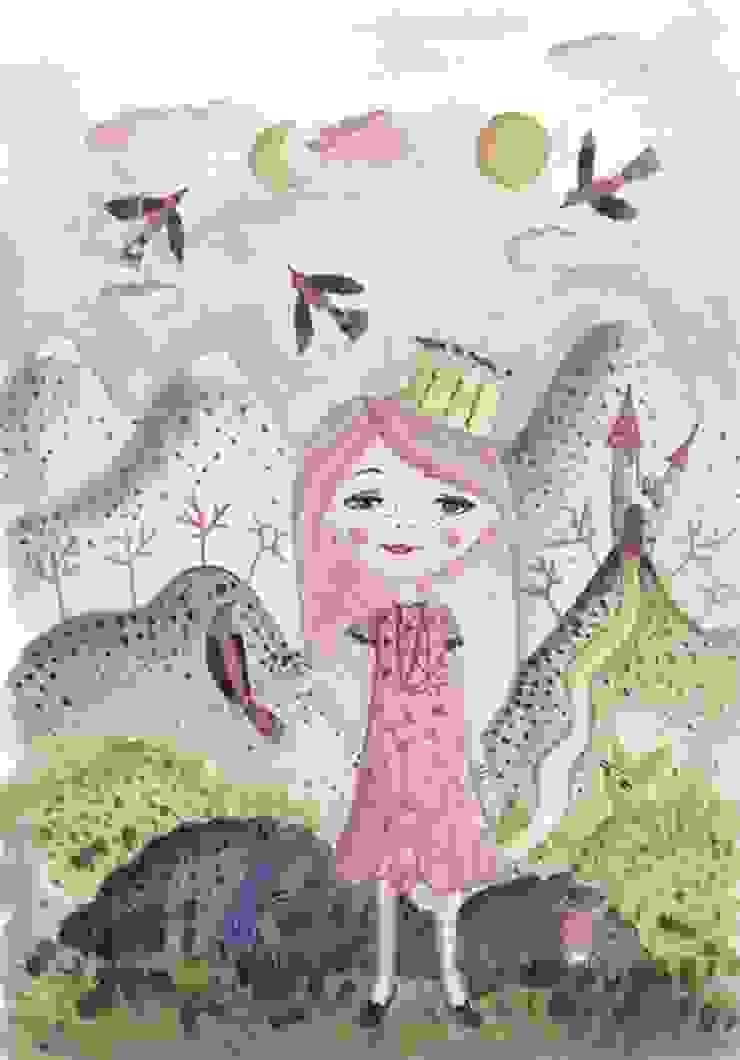 Obraz na płótnie Princess od 4rooms.com.pl Nowoczesny