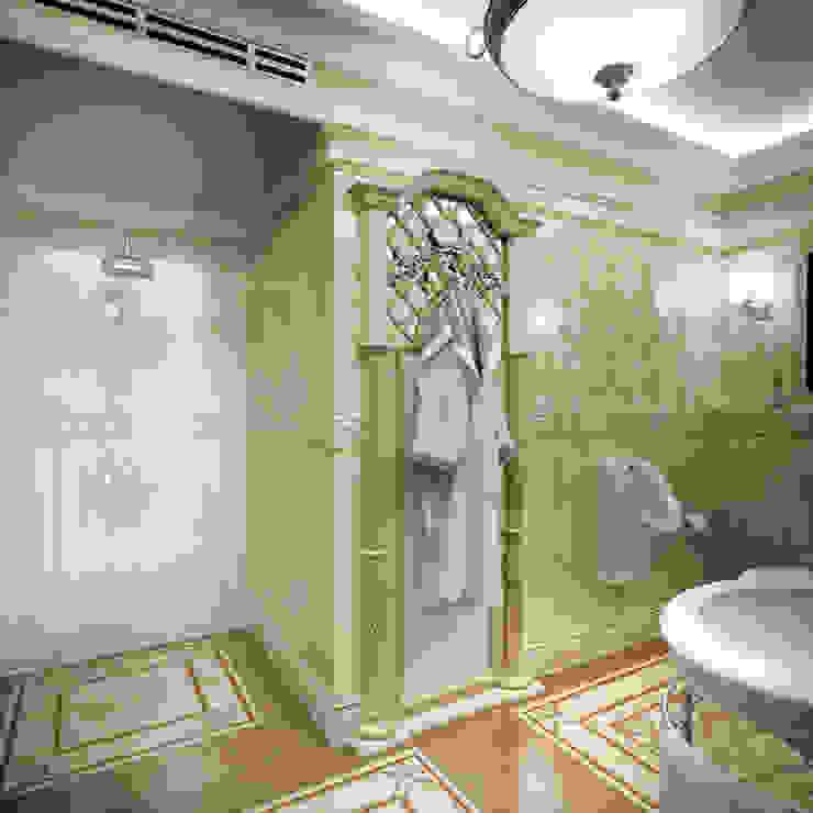 Гостевой санузел. Вид 2 Ванная в классическом стиле от Defacto studio Классический