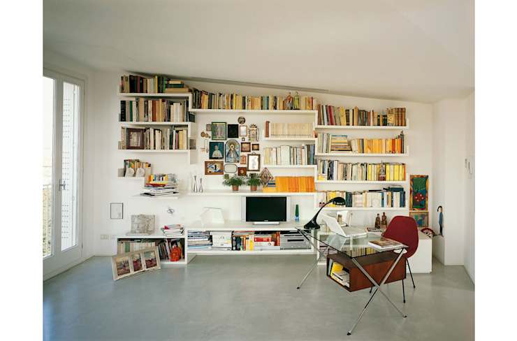 Libreria su misura 8&A Architetti StudioArmadi & Scaffali