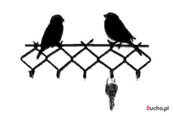 WRÓBLE wieszak na klucze, ściereczki, akcesoria kuchenne od Bucha Skandynawski