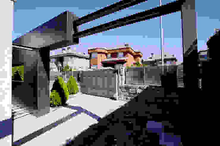 Definición de espacios Casas de estilo rústico de IPUNTO INTERIORISMO Rústico