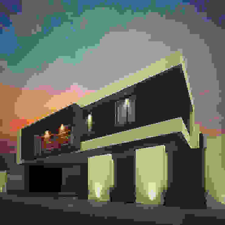 Fachada Principal Casas minimalistas de RTstudio Minimalista