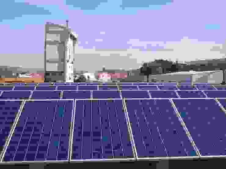 Produzir a energia para autoconsumo - uma boa ideia Espaços comerciais modernos por myhomeconsultores.pt Moderno