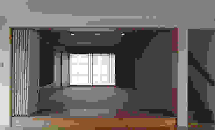 長谷雄聖建築設計事務所 Modern Media Room