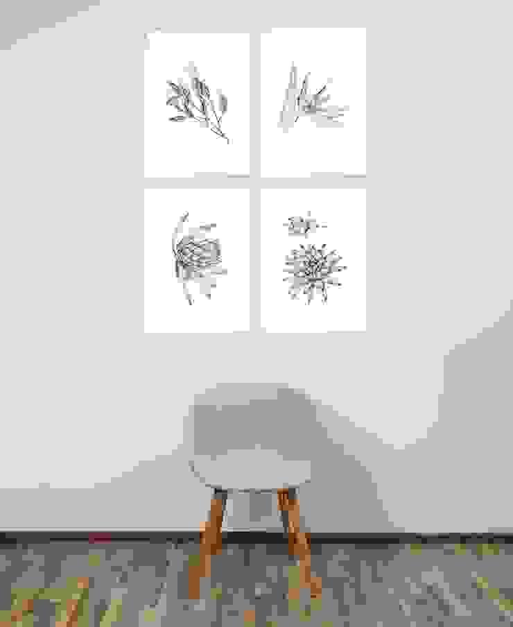 Balcon, Veranda & Terrasse minimalistes par JUNIQE Minimaliste