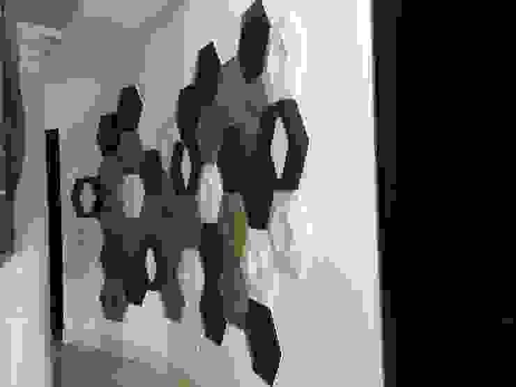 Arte Objeto en muros Paredes y pisos de estilo ecléctico de INTERIORISMO MG Ecléctico