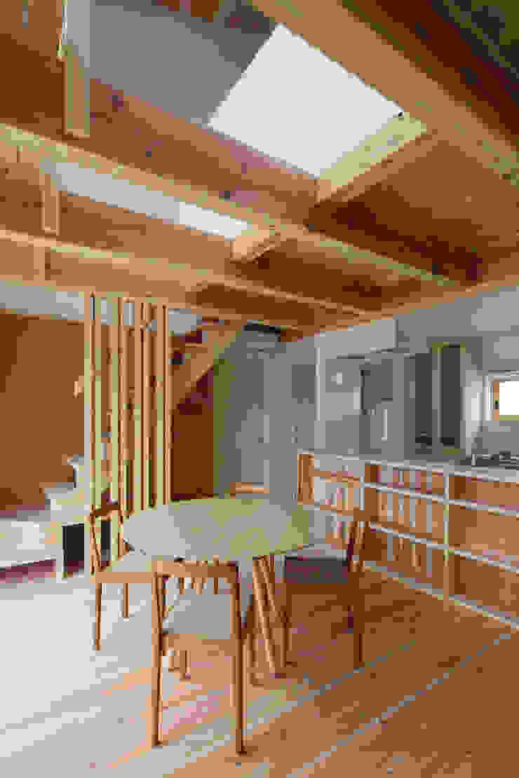ダイニング オリジナルデザインの ダイニング の 芦田成人建築設計事務所 オリジナル