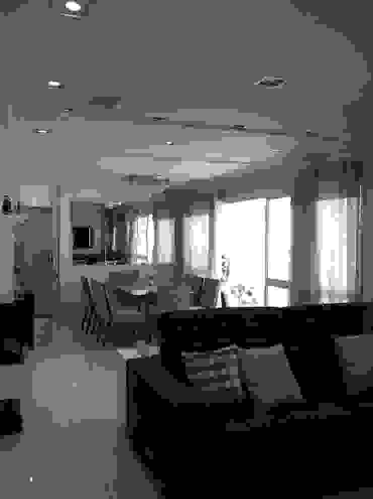 Apartamento Condomínio Central Park – Mooca Salas de jantar modernas por Projetual Arquitetura Moderno